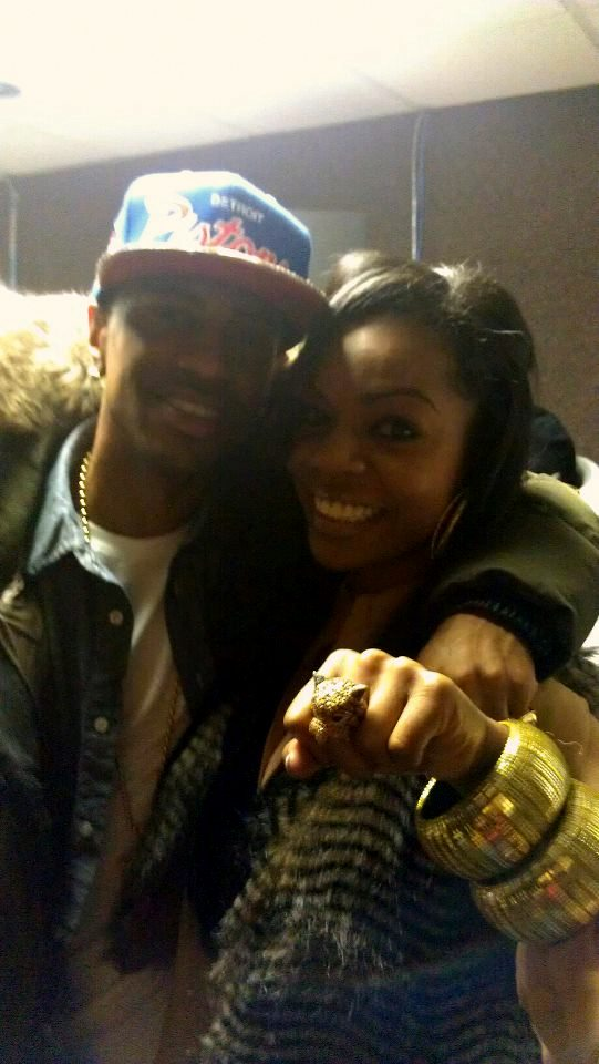 Keisha Nicole and Big Sean